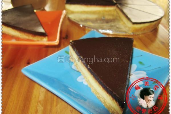 巧克力芝士蛋糕的做法