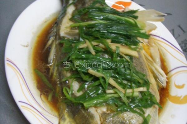 清蒸桂花鱼的做法
