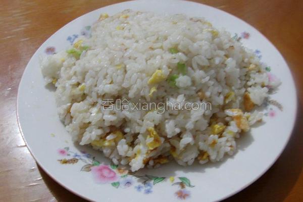 麻焖蛋饭的做法