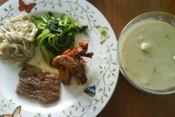 鸡茸蘑菇汤的做法