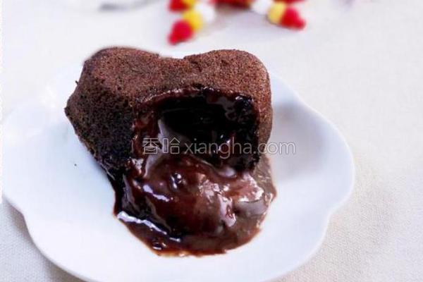 暖心巧克力蛋糕的做法