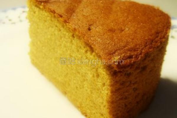 红糖蛋糕的做法
