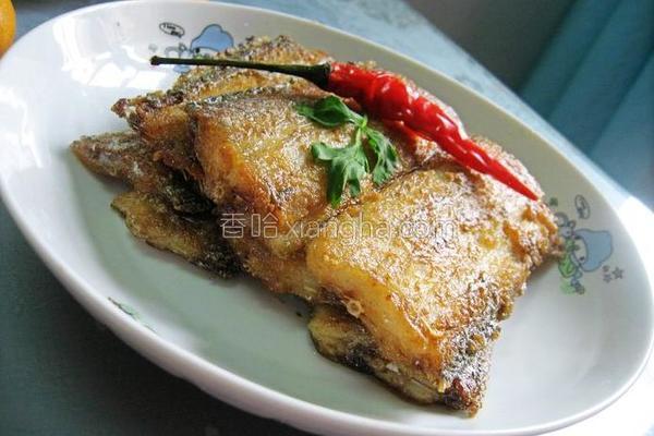 煎咸带鱼的做法