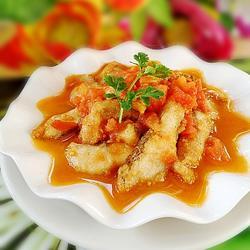 酸甜鲈鱼片的做法[图]