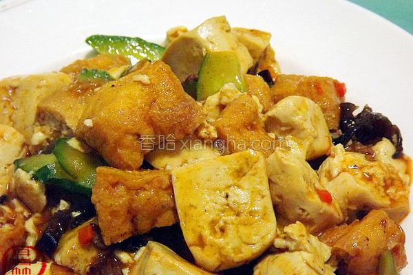 金银豆腐的做法