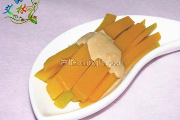 腐乳金瓜条的做法
