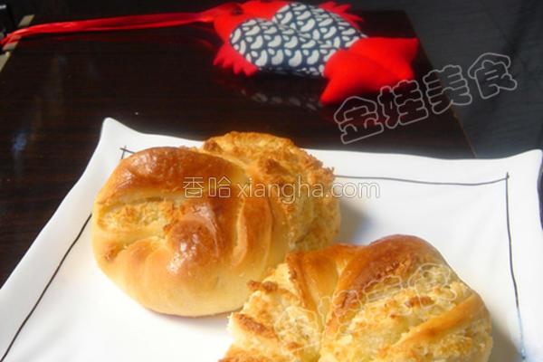 椰蓉小面包的做法