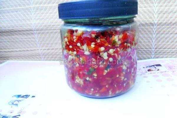 腌制剁椒的做法