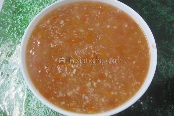 番茄鱼茸汤的做法