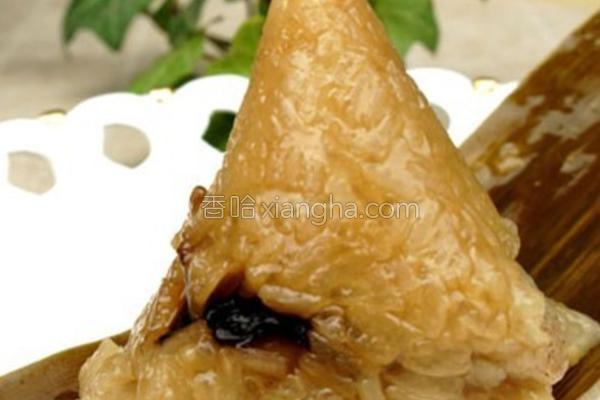 香菇猪肉粽的做法