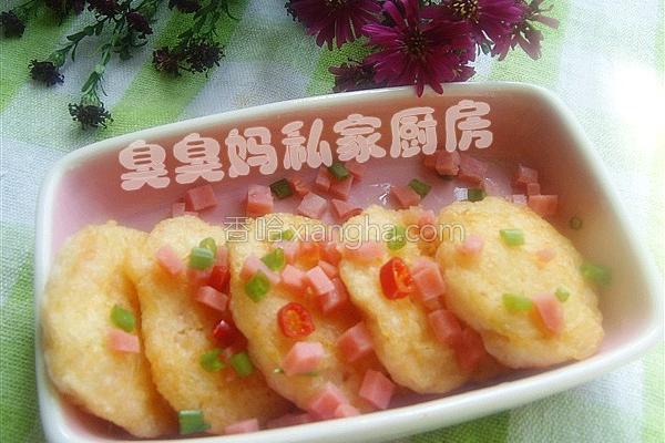 鲜虾饼的做法