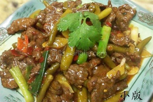 泡椒炒牛肉的做法