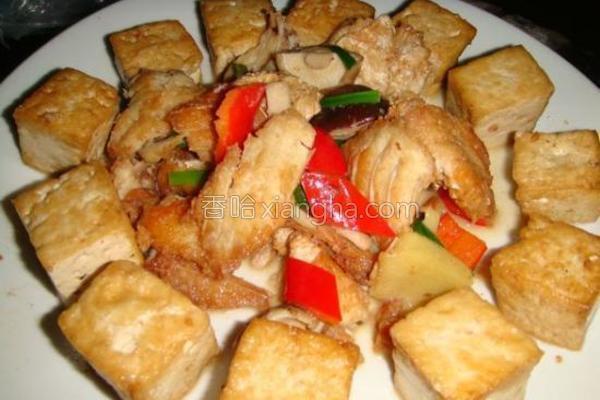 鱼肚档烧豆腐的做法