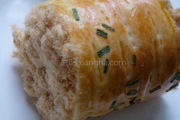 肉松面包卷的做法