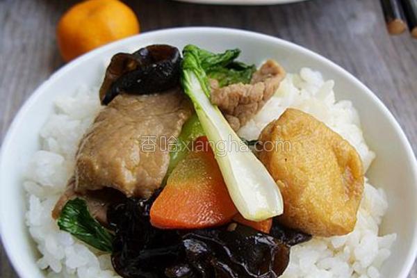营养丰富健康炒肉的做法
