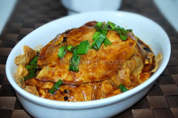 红烧大蛋饺的做法