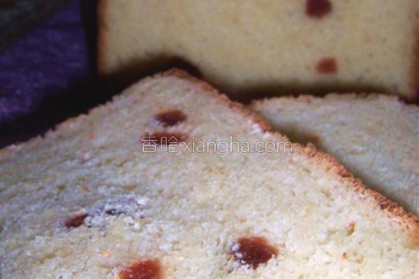 大果料面包的做法