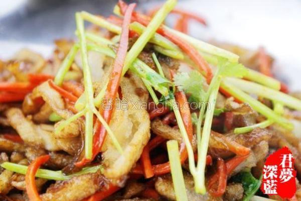 干锅蘑菇的做法
