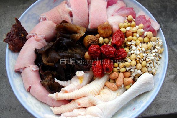 红枣美肤汤的做法