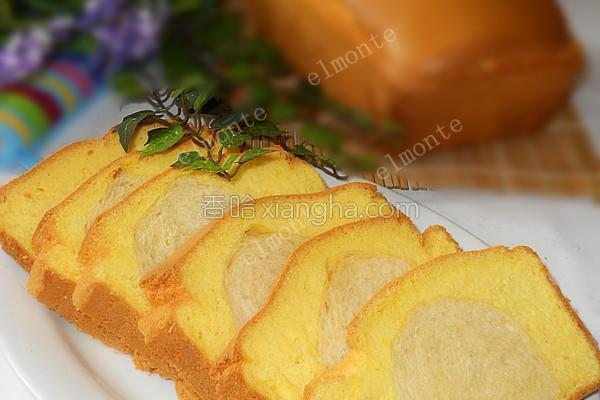 面包蛋糕的做法