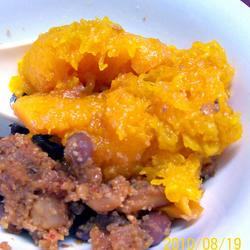 红豆南瓜粉蒸肉的做法[图]