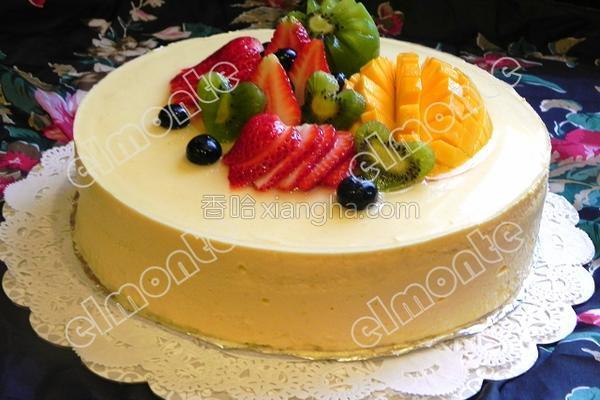 芒果慕司蛋糕的做法