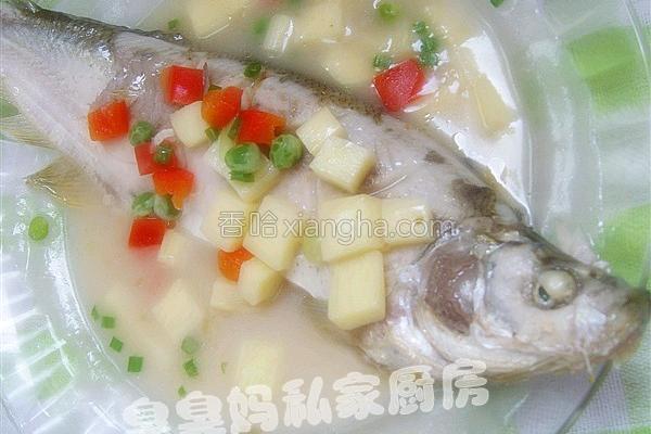 白汁鳜鱼的做法