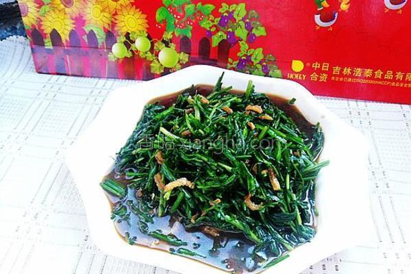 蚝油海米炒韭菜的做法