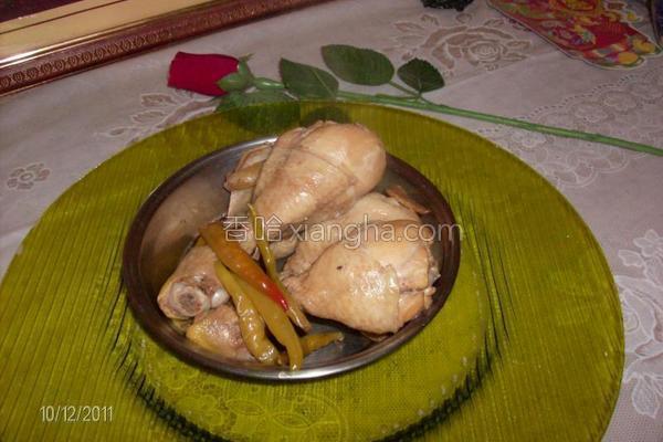 泡椒炖鸡的做法