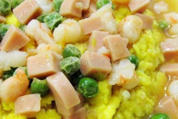 东北熘黄菜的做法