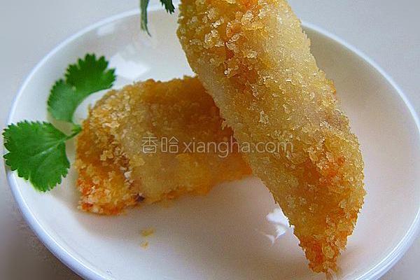 酥炸萝卜鱼的做法