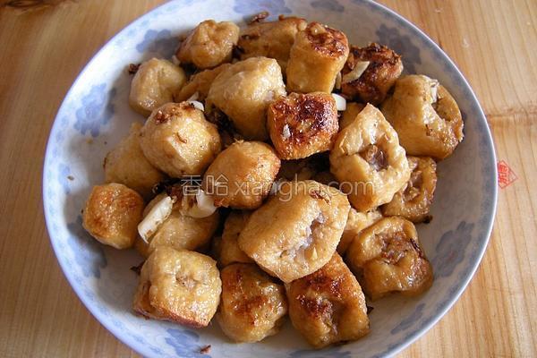 肉酿豆腐泡的做法