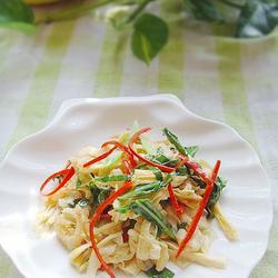 腐竹海米燒芥藍的做法[圖]