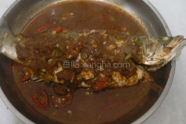 泰国东炎蒸鱼的做法