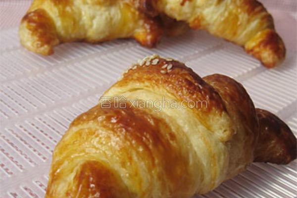 croissants的做法