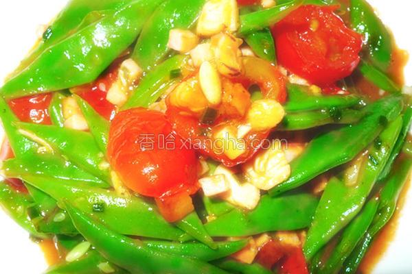 瑶柱四季豆的做法