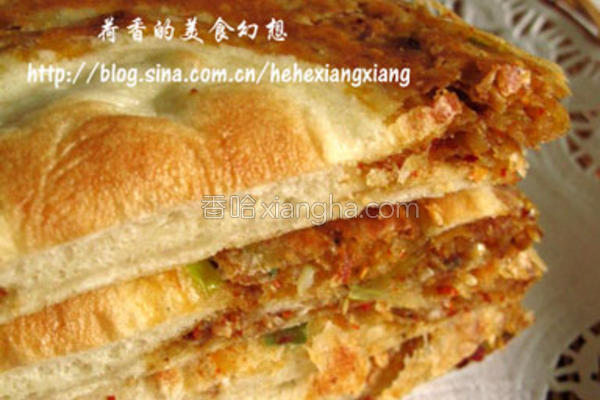 辣子葱香饼的做法