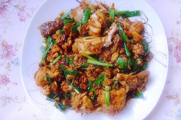 韭香鱼肉的做法