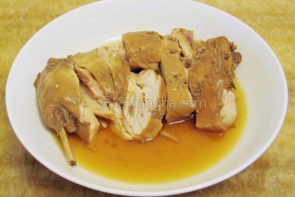 卤水兔肉的做法