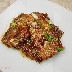 豆瓣酱烧带鱼的做法[图]