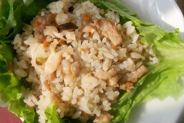 家常炒米的做法