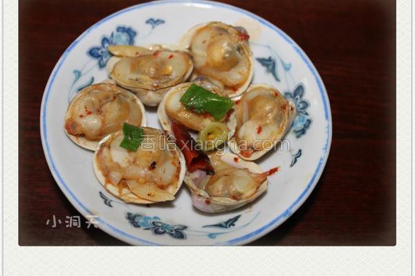 香辣白蛤的做法