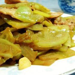 青柿子炒肉片的做法[图]