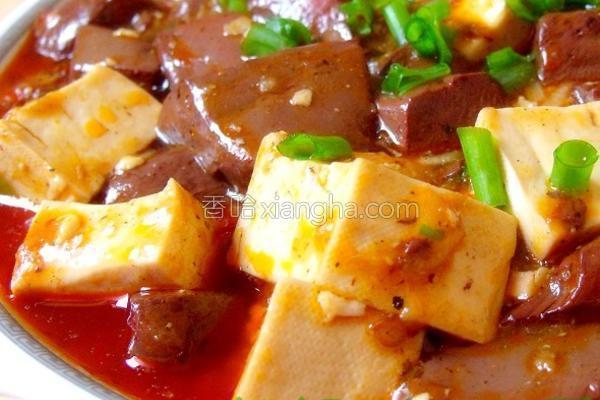川香双色豆腐的做法