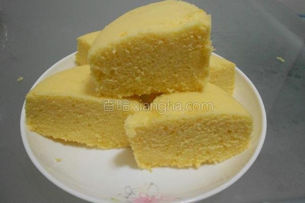 柠檬蒸糕的做法