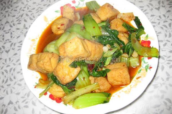 油菜豆腐的做法