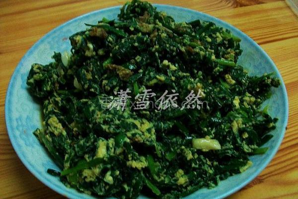 韭菜灌蛋的做法