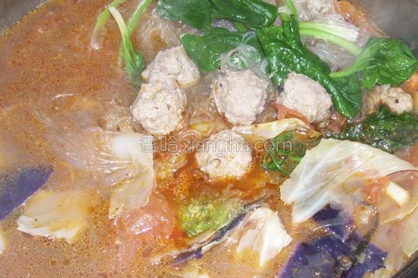 香辣丸子汤的做法