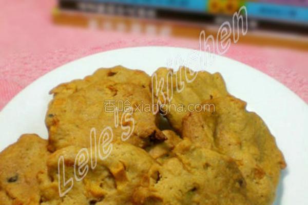 焦糖苹果饼干的做法