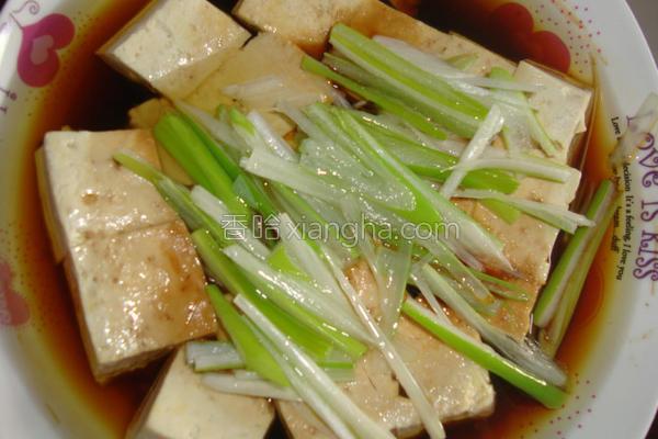 清蒸豆腐的做法